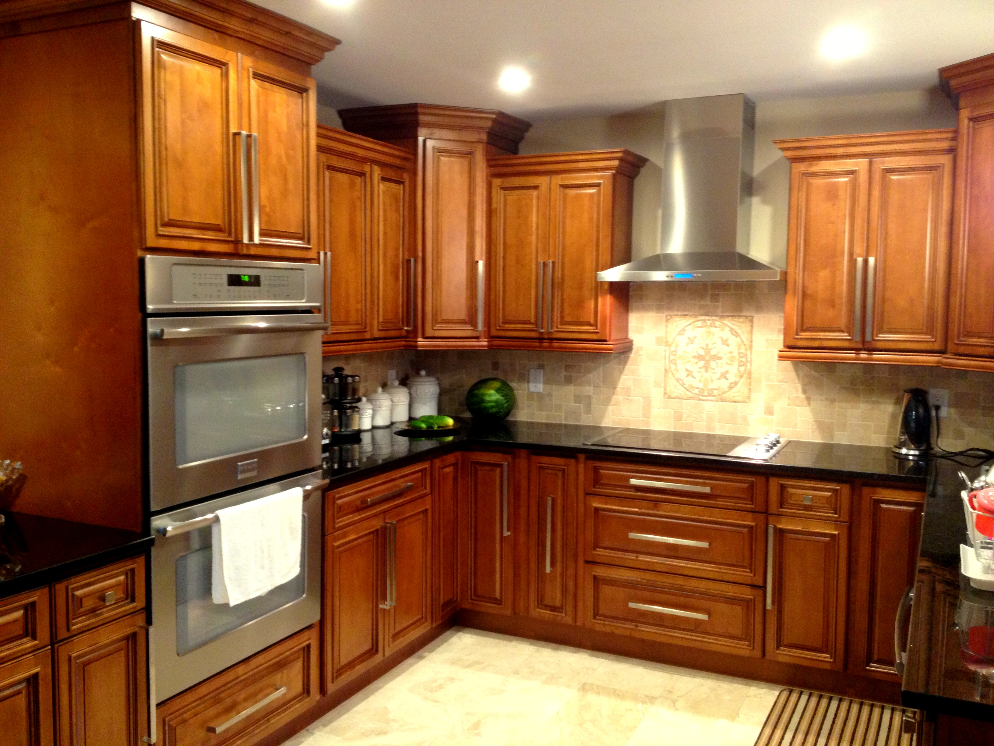 Rta kitchen cabinets color choices for Kitchen cabinet wood colors