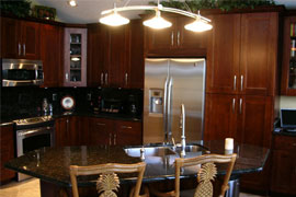 cherry shaker kitchen cabinets. Ask for a no obligation quote our Cherry Shaker cabinets and you would  be impressed with the possibilities Buy Kitchen Cabinets from GEC Cabinet Depot